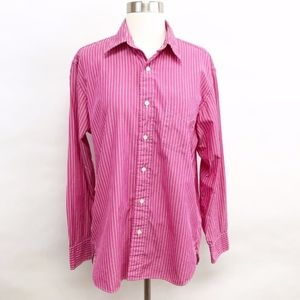 J. Crew Tops - j. crew | button-down striped cotton shirt sz S